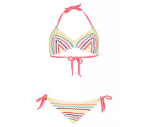 Triangel Bikini mit Häkelverzierung
