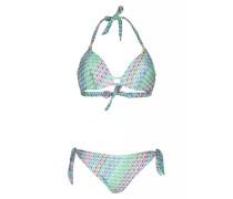 Triangel Bügel Bikini in grün