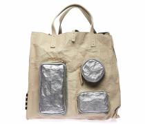 Handtasche in Papier-Optik