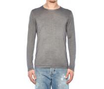 Pullover aus Woll-Seiden-Gemisch