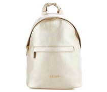 Rucksack in Metallic-Finish
