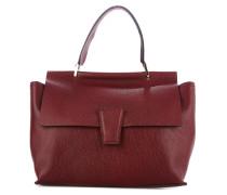Handtasche aus genarbtem Leder