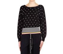 Sweater mit Polka Dots