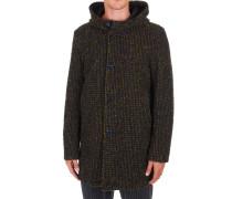 Mehrfarbiger Mantel aus Wollgemisch