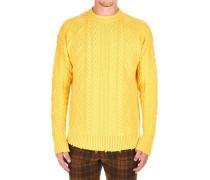 Sweater mit Details im Used-Look