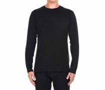 Leichter Pullover aus Wollgemisch