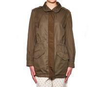 Military Jacke mit abnehmbaren Ärmeln