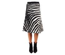 Rock mit Zebra-Muster