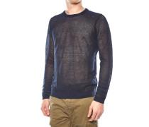Perforierter Pullover