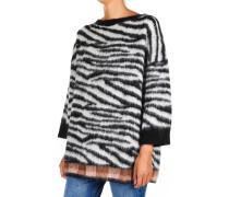 Oversize-Sweater aus Alpakagemisch