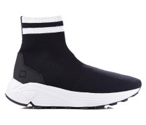 "Sock-Sneaker ""Dafne Lurex Black"""