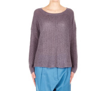 Strickpullover in Mohair-Mix