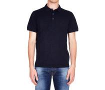 Gemustertes Polo T-Shirt