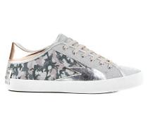 Glitzer-Sneakers mit Camouflage