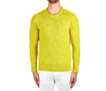 Sweater aus Schurwolle im Zopfstrickmuster