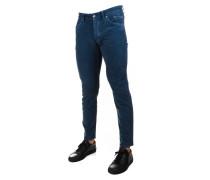 Jeans aus Samt mit Struktur