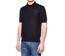 Polo T-Shirt in Strick