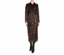 Maxikleid mit Animalprint