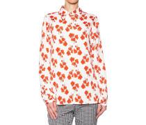 Bluse mit Blütenprint