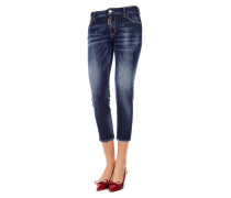 Medium Cropped Twiggy Jean