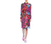 Hemdkleid mit floralem Print