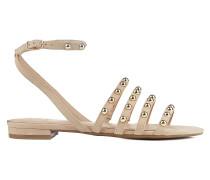 Sandalen mit Nietendetail