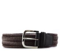 Beliebte Marke Reptiles House Gürtelband Snake Prägung Gürtel Dunkelblau