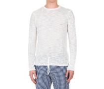 Leichtes Sweatshirt aus gewebter Baumwolle