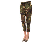 Camouflage Baggy-Hosen