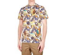 T-Shirt mit Musterdruck