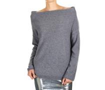 Oversize-Pullover aus Wollgemisch