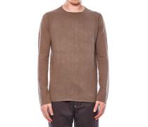 Pullover aus Baumwoll-Leinen-Gemisch