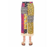 Leichte Hose mit floralem Muster