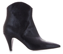 "Ankle Boots mit Reptilienprägung ""Tanzania"""