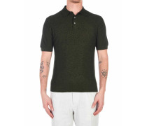 Strick Polo in Frottee Optik