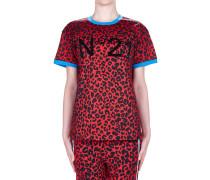 T-Shirt mit Tiger-Druck