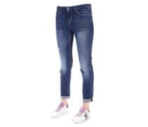 Jeans mit Strass-Details