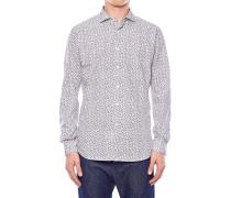 Baumwollhemd mit Musterprint
