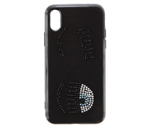 Cover Iphone X Flirting Strass