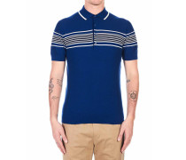 Strick Polo-Shirt