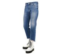 """Cropped Jeans """"Tube"""""""