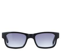 Sonnenbrille mit Karomuster