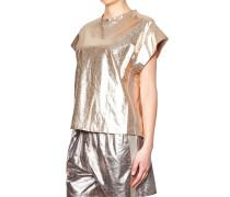 Metallic-Look T-Shirt
