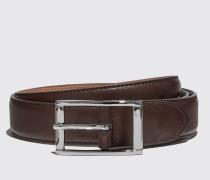 Cintura Marrone Scuro Casual