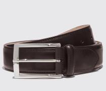Cintura Marrone Scuro Classica