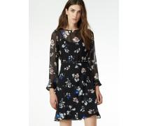 Kurzes Kleid 'Poetic flowers'