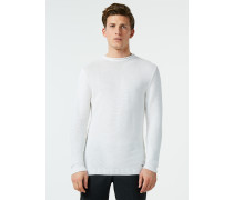 Pullover aus Leinen und Baumwolle
