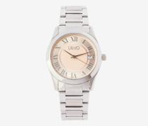 Armbanduhr aus Stahl