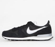 Nike Internationalist - Black / Metallic Silver - White - Flt Silver