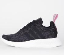 Adidas NMD_R2 W - Core Black / Black Core / Wonder Pink F10